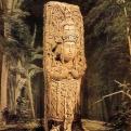 Stela D Copan MesoAmerica 1844