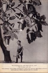 Heartfield, J (1933) Bellotas alemanas