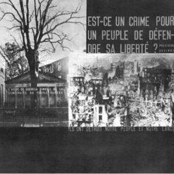 Fotomontaje, Josep Renau y F. & Kollar, F. (1937). Montaje fotográfico bombardeo Guernica. Paris