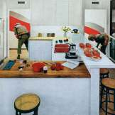 Rosler, M. (2004. 129). Red Stripe Kitchen. Guggenheim. New York