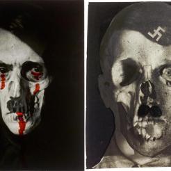 Blumenfeld, E. (1933) Grauenfresse / Hitler el rostro del terror). Alemania