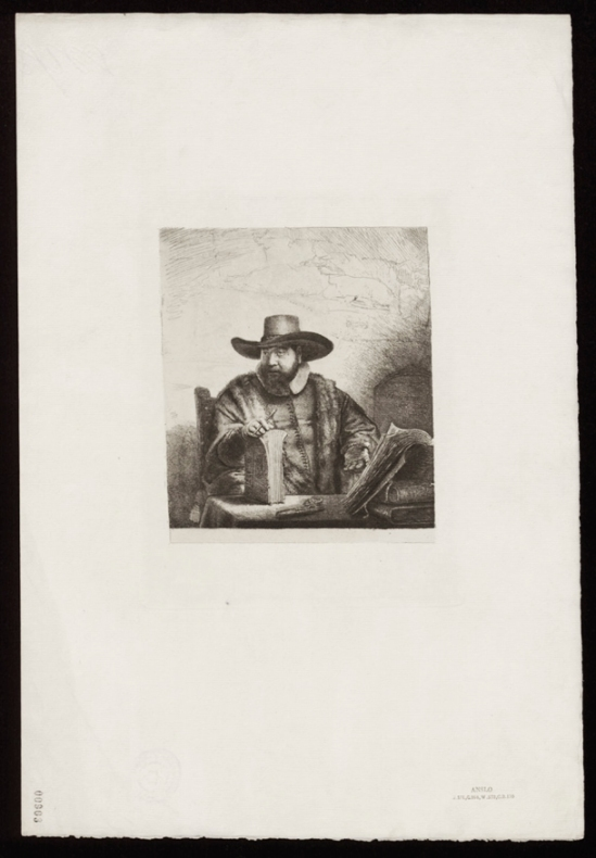 103 Rembrant - Corneille Anslo1641