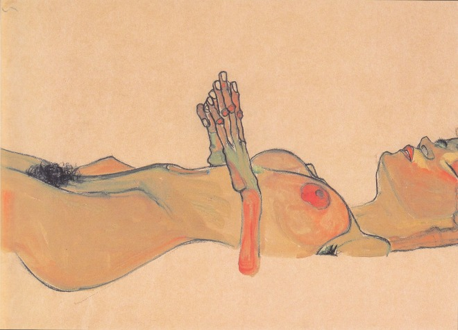 Egon_Schiele_-_Totes_Mädchen_-_1910