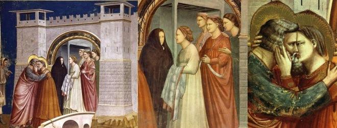 El encuentro de Ana y Joaquín
