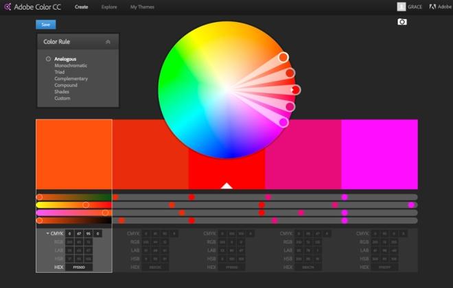 Color-wheel-analogous