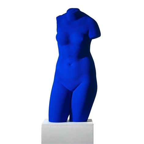yves-klein-la-vénus-dalexandrie-(vénus-bleue)