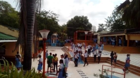 Hall principal liceo soledad acosta de samper cartagena