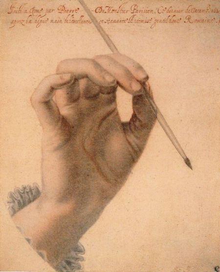3b2a188411e6a184093922b8b3fee800--artemisia-gentileschi-hand-art