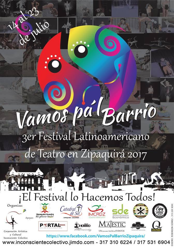 afiche VAMOS PAL BARRIO
