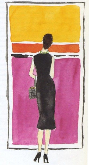 a4b9cacdba4a8aef9fcf2766da65d7e8--mark-rothko-fashion-illustrations