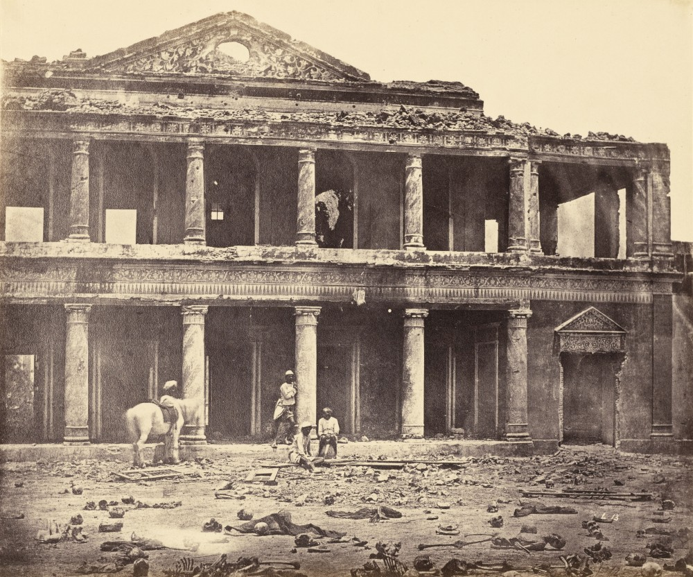 The-Ruins-of-Sikandar-Bagh-Palace-Showing-the-Skeletal-Remains-of-Rebels-in-the-Foreground-after-Indian-Mutiny---Lucknow,-India,-1858.jpg