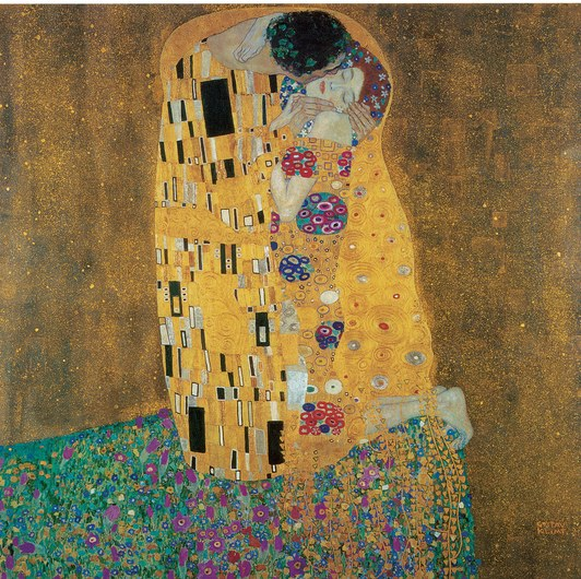 Backchannel-Grovier-Gustav-Klimt,-The-Kiss-w